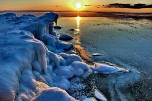 Winter Sunset Georgian Bay 2.jpg